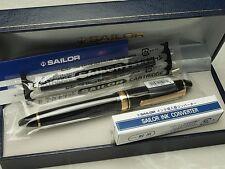 Sailor Profit Standard 21 / Black 21K Music-nib with converter 11-1521-920