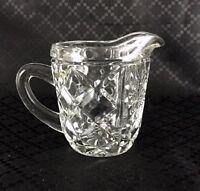 Vintage Glass Jug Small Creamer Mid Century Modern