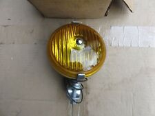 New Old Stock Vintage Period Yellow Foglamp  Ausin, Jaguar, Alvis, MG, Rover etc