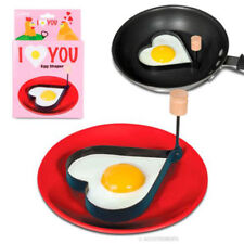New Accoutrements Lovers I Love You Heart Egg Pancake Shaper Chef Kitchen Tool