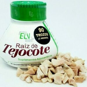 ELV Raiz de tejocote 3 Month root 100% diet weight loss natural bajar peso detox
