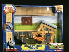 Fisher-Price Thomas Friends Train Tracks Wood Wooden Railway Quarry Mine Tunnel