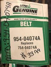 Genuine MTD 954-04074A V-Belt New