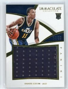 2014-15 Dante Exum 04/99 Jersey Panini Immaculate Rookie RC