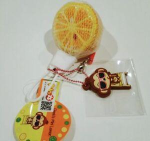Mini Puni Maru Lemon Squishy (Orange)