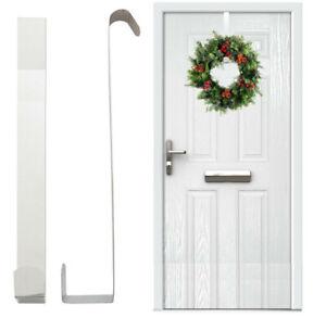 Christmas Wreath Door Hanger Metal Hook Xmas Decoration 40cm