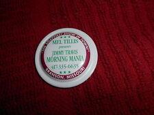 VINTAGE - CLICK - IT -- CIRCA 1990'S -- MEL TILLIS PRESENTS JIMMY TRAVIS SHOW