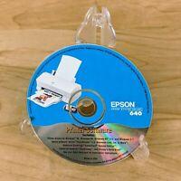 EPSON STYLUS 640 PRINTER DRIVERS INSTALLATION SOFTWARE PC CD-ROM DISC