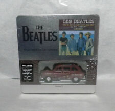 """The Beatles YESTERDAY 7"""" Single Sleeve Diecast Taxi-XL T-shirt + Wall Plaque"""