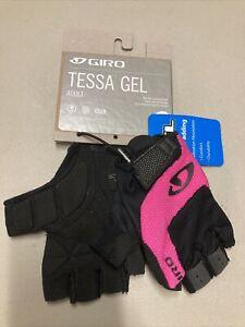 ! Giro Tessa Gel Adult Womens Small Cycling Bike MTB Gloves Pink/Black