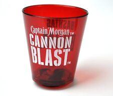CAPTAIN MORGAN cannon blast EE.UU. plástico Shot Vidrio Stamper