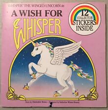 A Wish for Whisper The Winged Unicorn SC 1984 VINTAGE No Stickers
