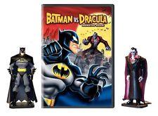 Batman vs. Dracula with Figurines (DVD, 2005) - Brand  New!!!
