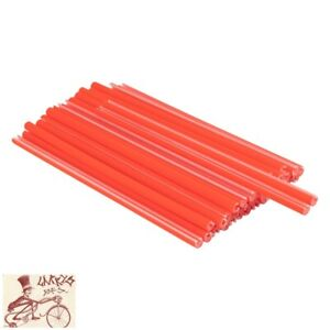 BLACK OPS ORANGE REFLECTIVE SPOKE COVERS--150mm--36 IN A PACK