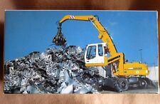 NZG 497 Liebherr A 316 Umschlagbagger 1:50, ovp,, für Diorama Schrotthandel