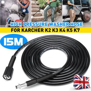 6/8/10/20M High Pressure Washer Water Cleaning Hose For Karcher K2 K3 K4 K5 K7