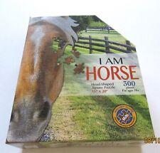"Madd Capp I AM HORSE JIGSAW PUZZLE- -head shaped 300 piece 15"" X 20"""