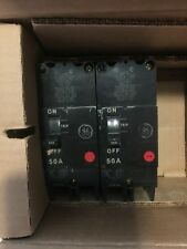 NEW IN THE BOX GE 50 AMP CIRCUIT BREAKER 480/277 VAC 2 POLE TEY250