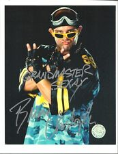 m741  Grand Master Sexay Brian Christopher signed Wrestling 8x10 w/COA
