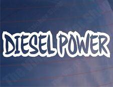 DIESEL POWER Novelty Car/Van/Boat/Truck/Bumper/Window Vinyl Sticker/Decal