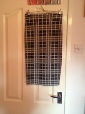 NWT Ladies Topshop Checked Patterned Skirt