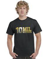 10 Mil Morgz Team Morgz Kids T-Shirt (Gold Print) Ages 3-13 Tee Top