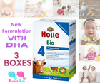 Holle stage 4 Organic Formula with DHA 3 Boxes 600g Free Shipping 4/8/2022+