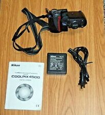 Nikon Coolpix 4500 Digital Camera 4x Optical Zoom with MH 53 Charger & Battery