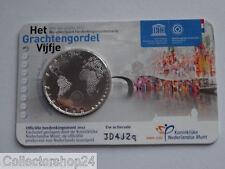 Netherlands Het Grachtengordel vijfje 5 euro 2012 fdc Coincard