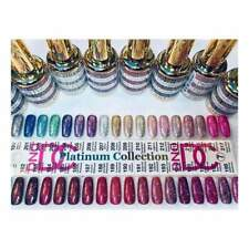 DND DC Platinum Glitter Gel Full Collection 36 pcs + Color Swatch