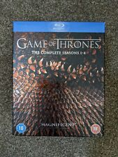 The Complete Seasons 1-4 Of Game Of Thrones Blue Ray