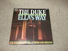 ELLA FITZGERALD & DUKE ELLINGTON - THE DUKE - ELLA'S WAY  = VERVE VLP 9149 MONO