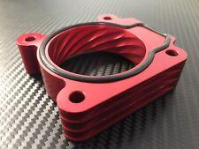 (X726) RED Throttle Body Spacer 2006 - 2010 Subaru IMPREZA  2.5l  w/o TURBO