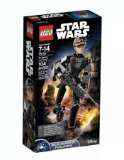 LEGO Star Wars Constraction Sergeant Jyn Erso Buildable Figure 75119 Toy Kit