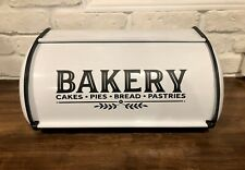 Farmhouse Kitchen Counter Bread Box Bin Storage Vintage Style Decor New Handmade