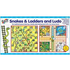 Galt Toys Snakes and Ladders Ludo Game Set A0528E