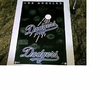New listing RARE NO PINHOLES MINT ESTATE 1994 LOS ANGELES DODGERS MLB BASEBALL LOGO POSTER