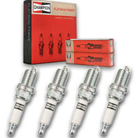 4 PACK Champion Spark Plugs Platinum Power #3071