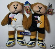 SKANSEN BEANIE KID DAVO THE WEST COAST EAGLES 2 JUMPERS AFL BEAR MWMT MARCH 2013