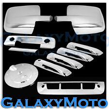 09-18 Dodge Ram Chrome Mirror+4 Door Handle+Tailgate+KH+CM+Gas+3rd Brake Cover