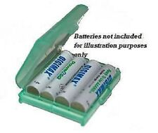 4 x Battery Storage Case for AAA Batteries