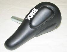 "KID'S BICYCLE SEAT W/ 22.2mm POST BLACK CRUISER LOWRIDER BMX 12"" or 16"" bikes"