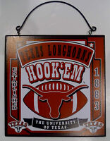 New University of Texas Longhorns College Licensed Wooden Sign Fan Football