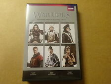 6-DISC DVD / WARRIORS: ATTILA THE HUN, CORTES, NAPOLEON, SPARTACUS,... (BBC)