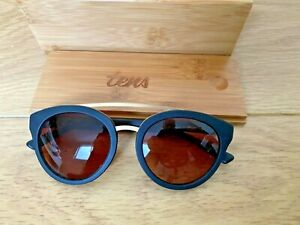 TENS Sunglasses LEON Black - BNIB
