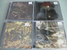 AVENGER 4 CD Lot New/Sealed: Bohemian Dark Metal, Feast of Anger, Godless +