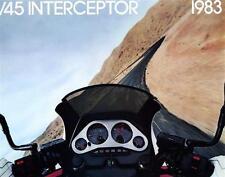 '83 Honda VF750 VF750F V45 Interceptor  6 Page Sales Brochure