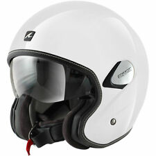 Fibreglass Scooter Plain Motorcycle Helmets