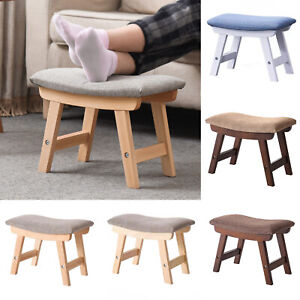 Multifunctional Feet Shoe Changing Stool Solid Wood Low Stool Sofa Stool Home