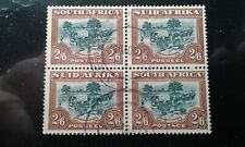 South Africa #63 used block e199.5266